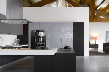 De'Longhi Magnifica S ECAM 22.110.B Kaffeevollautomat (Direktwahltasten und Drehregler, Milchaufschäumdüse, Kegelmahlwerk 13 Stufen, Herausnehmbare Brühgruppe, 2-Tassen-Funktion) schwarz -