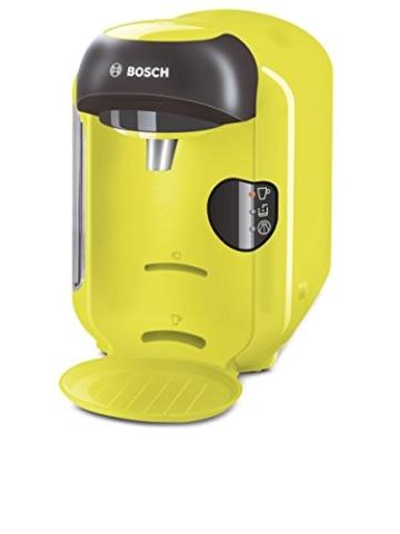 Bosch TAS1256 Tassimo Vivy Multi-Getränke-Automat 1300 W, platzsparend, große Getränkevielfalt, zitronegelb -