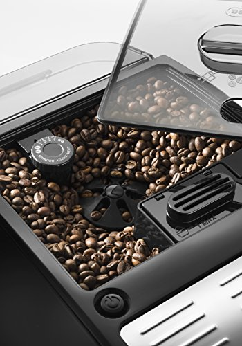 De'Longhi Autentica Cappuccino ETAM 29.660.SB Kaffeevollautomat (Digitaldisplay, integriertes Milchsystem, Lieblingsgetränke auf Knopfdruck, Herausnehmbare Brühgruppe, 2-Tassen-Funktion) silber -