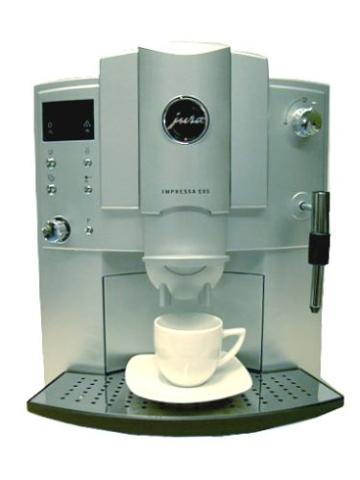 Jura Espresso Vollautomat E 85 Impressa platin -