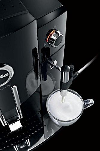 Jura Impressa C60-Kaffeevollautomat (freistehend, Schwarz, Kaffeebohnen, Kaffee, 15bar, vertikal) -