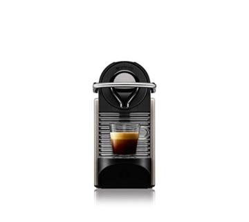 Krups XN 3005 Nespresso Pixie (19 bar, Thermoblock-Heizsystem) electric titan -